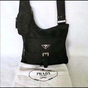 PRADA Tessuto Nylon Messenger Bag BT0520
